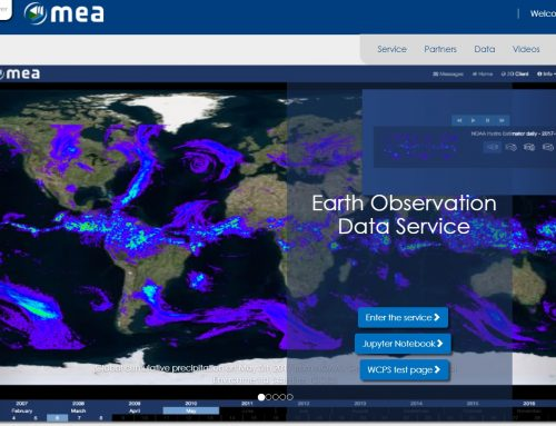 Earth Observation Data Service