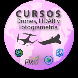 Cursos LIDAR Fotogrametria drones