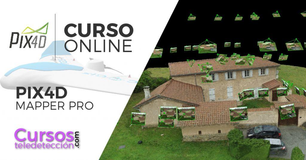 Curso online pix4d mapper pro