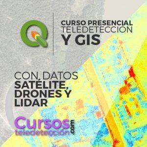 Curso Presencial QGIS datos saterlite drones y lidar