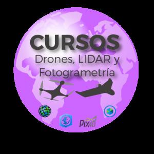 Cursos Drones, LIDAR y Fotogrametria