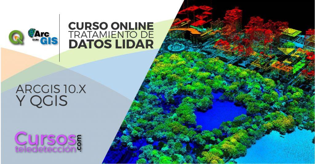 Online ArcMap QGIS Datos LIDAR