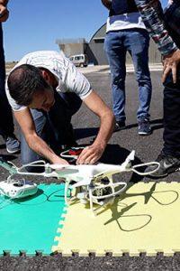 Curso de teledeteccion agricultura drone puesta en marcha phantom