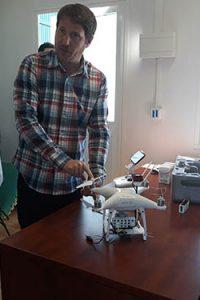 Curso de teledeteccion agricultura drone Montaje squoia