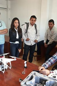 Curso de teledeteccion agricultura drone Montaje