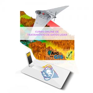 CURSO DE TRATAMIENTO DE DATOS LIDAR CON ARCGIS 10 usb