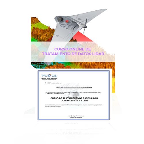 CURSO DE TRATAMIENTO DE DATOS LIDAR CON ARCGIS 10 diploma
