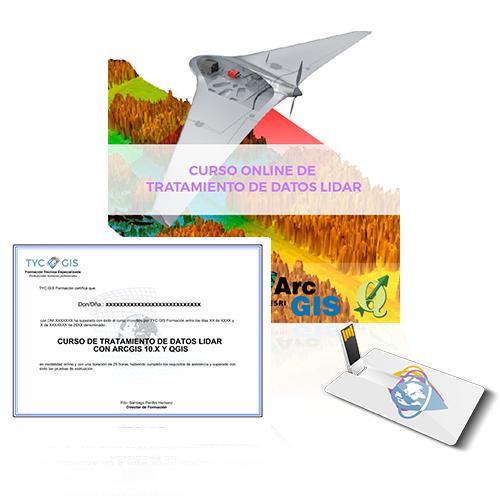 CURSO DE TRATAMIENTO DE DATOS LIDAR CON ARCGIS 10 usb diploma