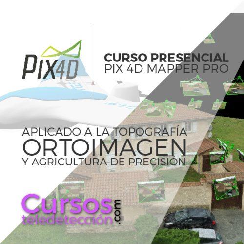 Curso Presencial pix4d teledeteccion y agricultura