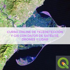 Teledeteccion Online dron satelite lidar