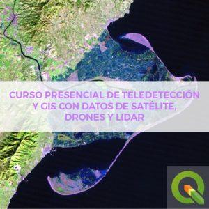Teledeteccion Presencial dron satelite lidar
