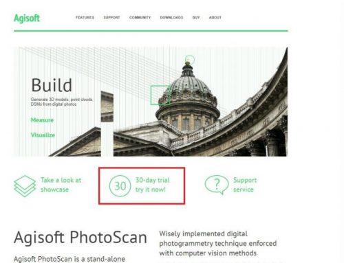 Instalación PhotoScan Professional