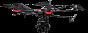 drone matrice volando