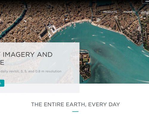 Descarga de datos satélite con el portal Planet Explorer