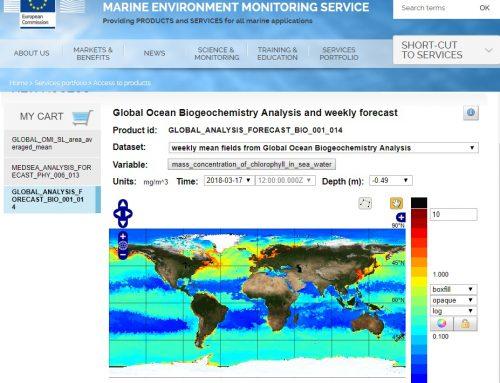 Indicadores para la Monitorización de los Océanos