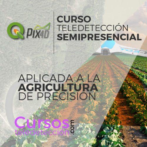 Curso Semipresencial Teledetección Agricultura