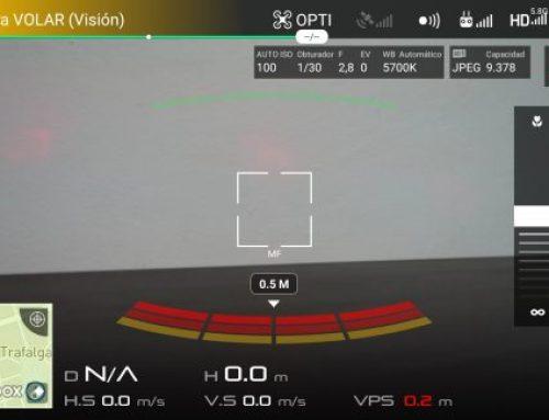 Calibrar la IMU y la brújula en un dron DJI