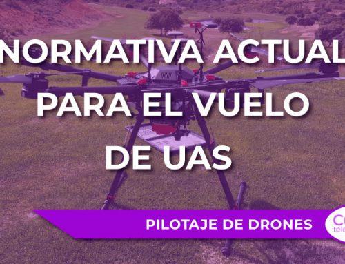 Normativa actual para el vuelo de UAS (drones)