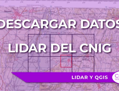 Cómo descargar datos LiDAR del CNIG y visualizarlos en versiones recientes de QGIS